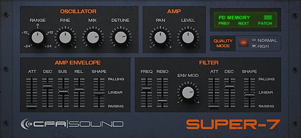 GUI Fullsize - Supersaw VST Instruments