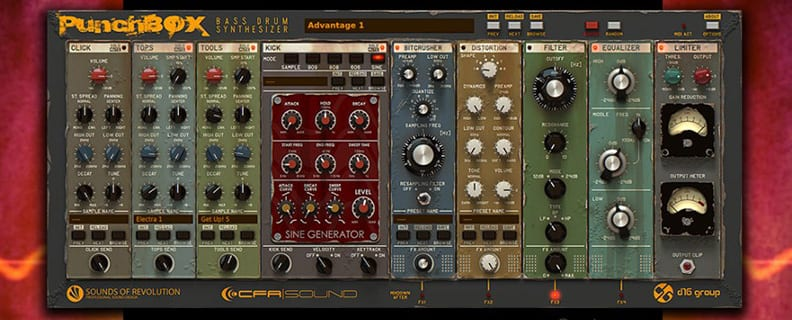 kick drum synthesizer
