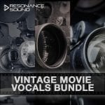 Bundle of Vintage Movie Vocals samples
