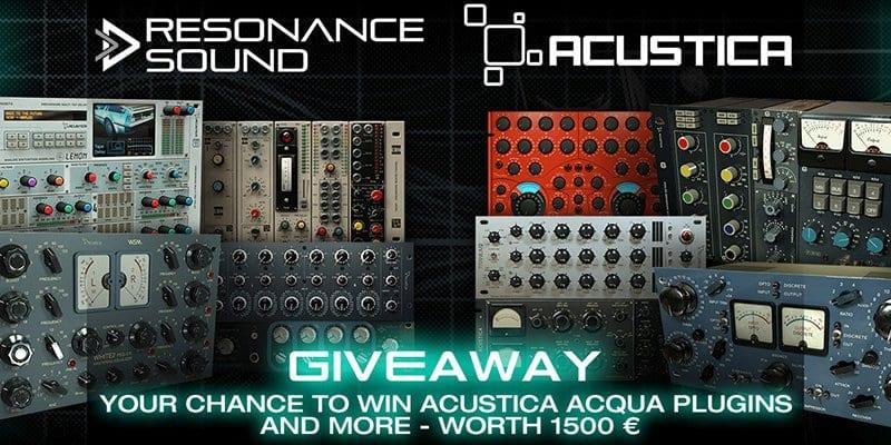 acustica acqua plugins giveaway