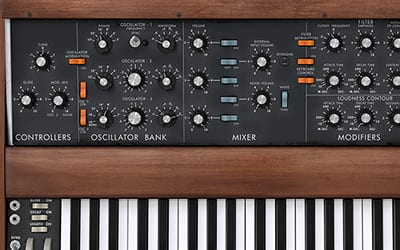 the wellknown minimoog model d vst by arturia
