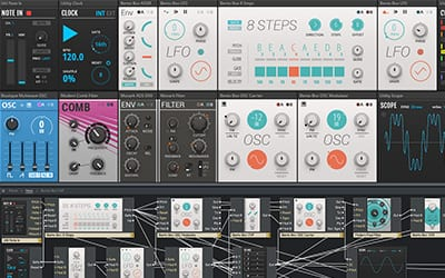 modern modular software synthesizer by native instruments