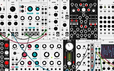 free modular audio software inspired by eurorack
