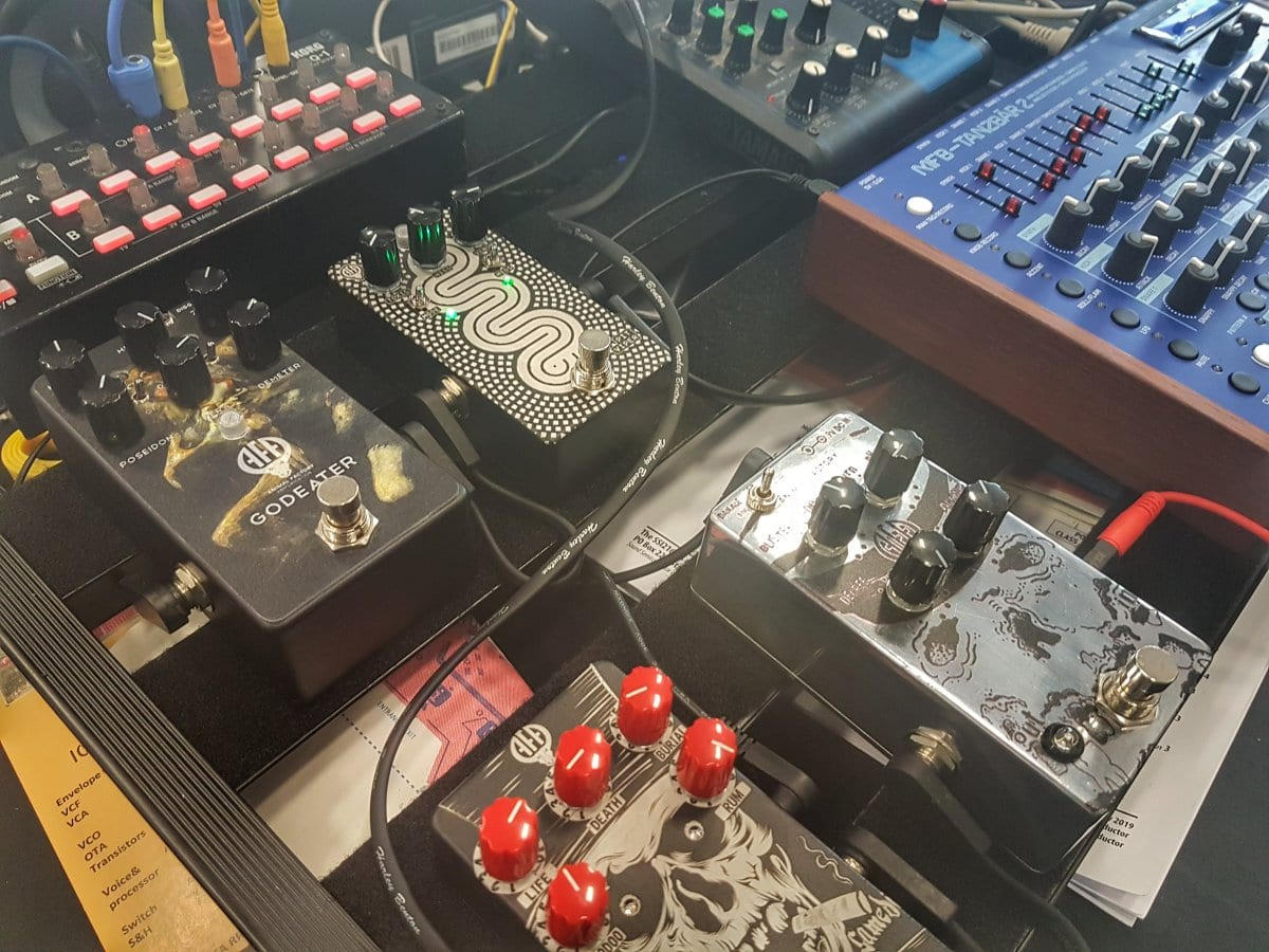 pedalboards pedals superbooth 2019 eurorack modular gear synthesizer effects