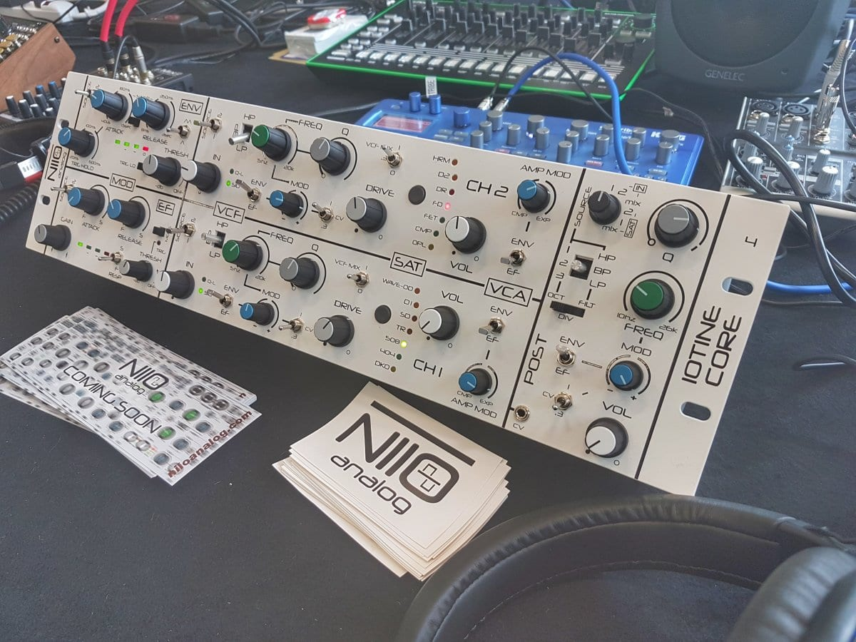 niio analog superbooth 2019 eurorack modular gear synthesizer effects