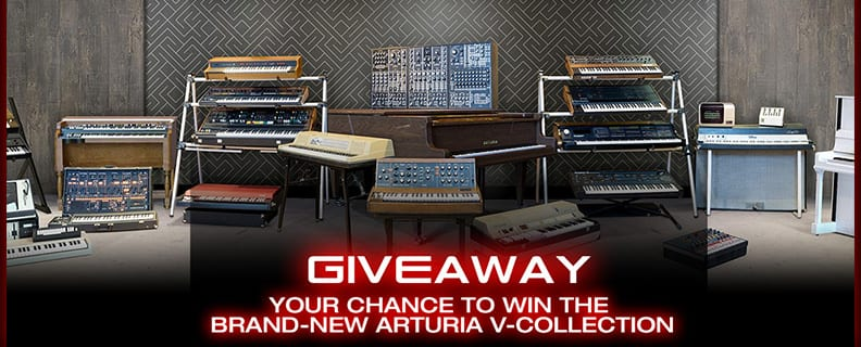arturia v-collection giveaway