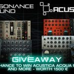 Win Acustica Acqua Plugins – Resonance Sound Giveaway 2018
