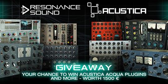 resonance sound giveaway 2018