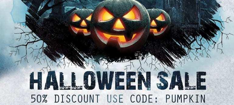 sale promotion halloween