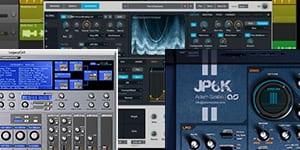 collection of different vst synthesizers