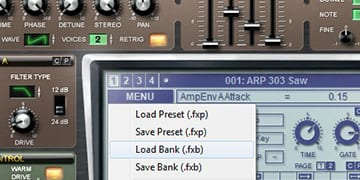 quick guide about how to install presets