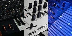 Presets for several hardware synthesizers