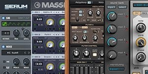 collection for presets for serum spire massive sylenth1