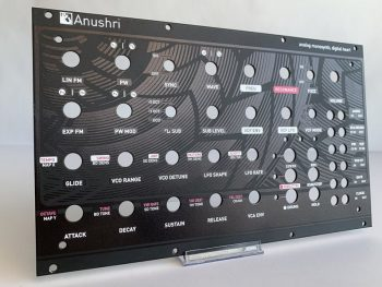 synthesizer eurorack faceplates
