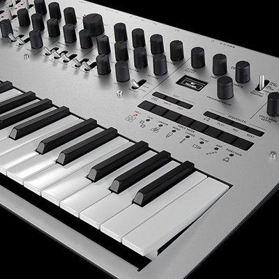 analog synthesizer by korg