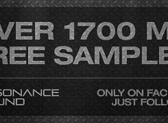 Get 1700 MB Free Samples!