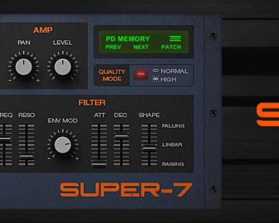 SUPER-7 – Supersaw VST
